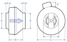 Fantech FX Inline Fan