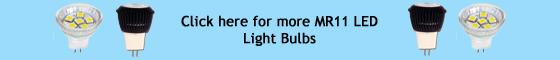 LED MR11 Light Bulbs