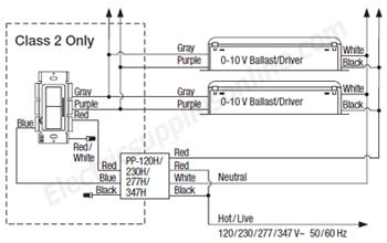 0 10V LED Dimmer Wiring Diagram on 0 10v dimming wiring diagram driver