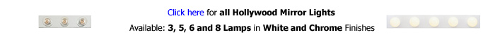 Hollywood Lights 3 Lamps