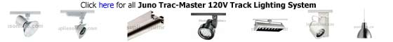 Juno Track Lighting Trac Master 120V Track System