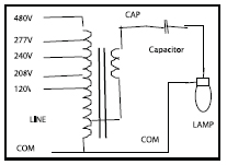 hid ballast wiring diagrams for metal halide and high pressure, Wiring diagram