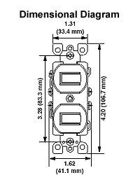 wiring diagram switch receptacle combination with Leviton 5241 W on Leviton 5241 W furthermore Diy Rewire additionally Leviton Plug Wiring Diagram in addition Double Receptacle Wiring Diagram furthermore Wiring Diagram Leviton Switch.