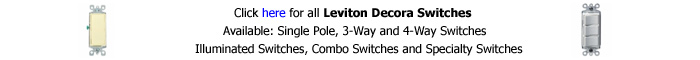Leviton Decora Switch