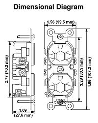 Leviton 5028 15 Amp, 250 Volt, NEMA 6-15R, 2P, 3W, Narrow ... on