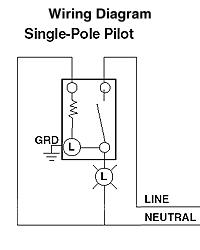 Leviton 1201-PLG 15 Amp, 120 Volt, Toggle Pilot Light - Illuminated on jl audio wiring diagram, clifford wiring diagram, mtx wiring diagram,