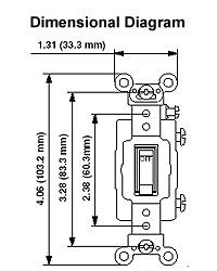 dimensional drawing � wiring diagram