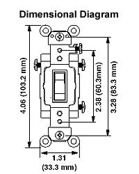 leviton csb3 20 20 amp 120 277 volt toggle 3 way ac quiet switch rh electricsuppliesonline com