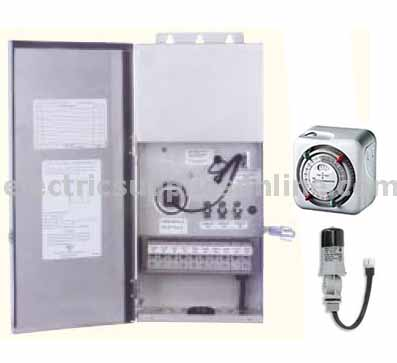 Lightcraft Transformer with Timer and Photocell