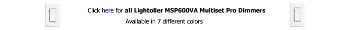 Lightolier MSP600VA