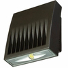 Lumark Lighting XTOR1A-PC1 Crosstour LED Wall Mount Light 10W, 5000K Color Temp. Bright White, 120V Photocontrol, Carbon Bronze