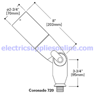 Lumiere Coronado 720 Dimensions