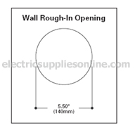 Lumiere Rio Round 1235 Wall Opening Dimensions