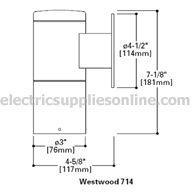 Lumiere Westwood 714 spec drawing