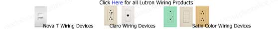 Lutron Wiring Devices