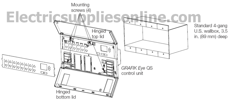 index of images lutron grafik eye qs rh site electricsuppliesonline com Lutron Shade Wiring Lutron Grafik Eye System