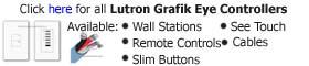 Lutron Grafik Eye Controllers