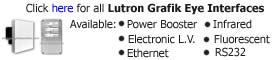 Lutron Grafik Eye Interfaces