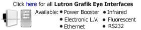 Lutron Grafik Eye Interfaces