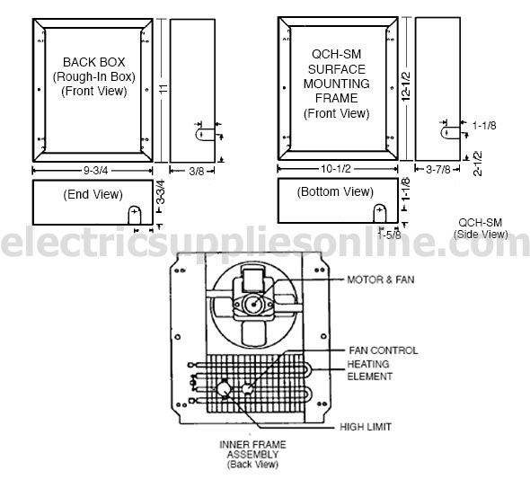 marley electric ceiling heaters marley wiring diagram free