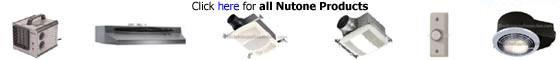 Nutone Fans, Range Hoods, Door Chimes