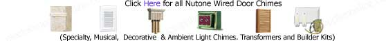 Nutone Wired Door Chimes