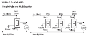 on d600 lutron dimmer wiring diagram