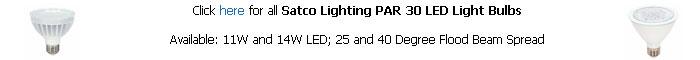 Satco Par 30 LED Bulb