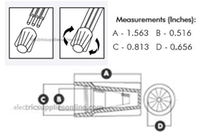 Large Wire Nut Dimensions